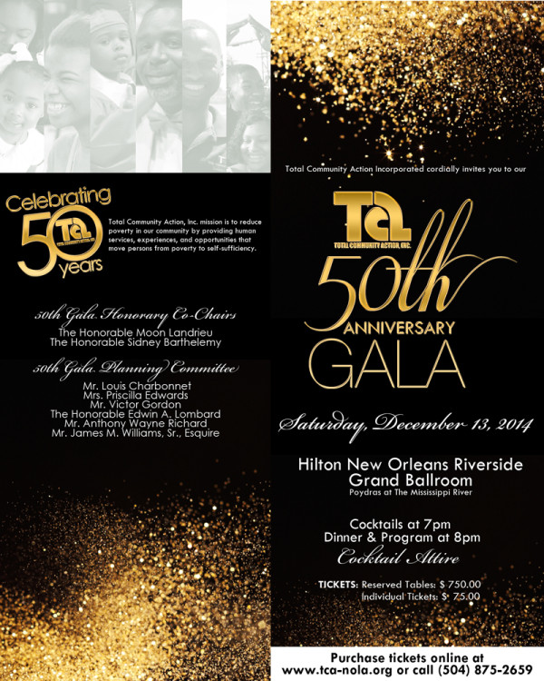 TCA 50th Anniversary Gala | Total Community Action